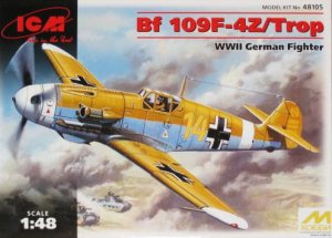 ICM 48105 - 1:48 Bf 109F-4Z/Trop, German Fighter