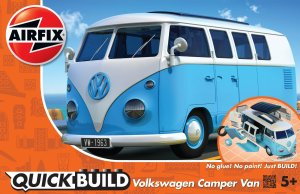 AIRFIX J6024 - VW Camper Van - Quick Build