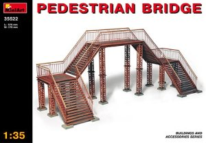 MINIART 35522 - 1:35 Pedestrian Bridge