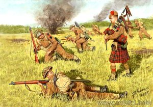 MASTER BOX 3547 - 1:35 Scotland The Brave!