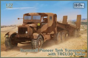 IBG 72080 - 1:72 Scammell Pioneer Tank Transporter with TRMU30 Trailer