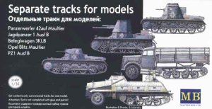 MASTER BOX 3505 - 1:35 Separate tracks Pz.Kpfw. I
