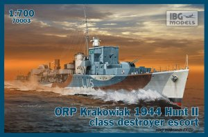IBG 70003 - 1:700 ORP Krakowiak 1944 Hunt II class destroyer escort