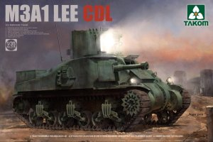 TAKOM 2115 - 1:35 M3A1 Lee CDL US Medium Tank