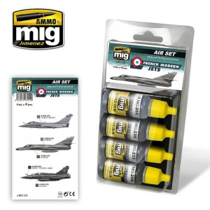 AMMO MIG 7211 - French Modern Jets - Air Set