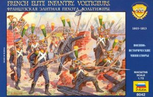 ZVEZDA 8042 - 1:72 French Voltigeurs. Elite infantry