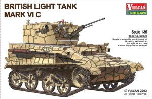 VULCAN 56009 - 1:35 British Light Tank Mk.VI C