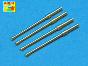 ABER A32014 - 1:32 Set of 4 Japanese barrels for 20mm Type 99 aircraft cannons