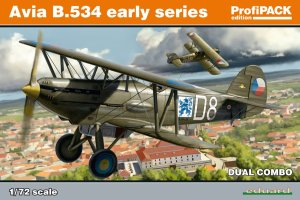 EDUARD 70103 - 1:72 Avia B.534 early series - Dual Combo