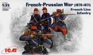 ICM 35061 - 1:35 French Line Infantry, French-Prussian War (1870-1871)