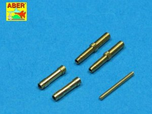ABER A32010 - 1:32 Set of 2 barrels for 30mm machine cannons MK108