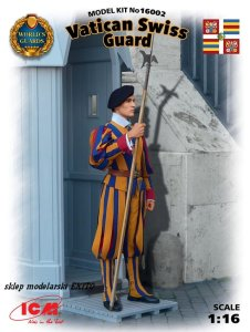 ICM 16002 - 1:16 Vatican Swiss Guard
