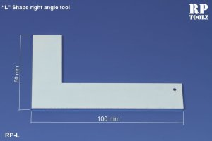 RP TOOLZ RPL - L shape Right angle tool
