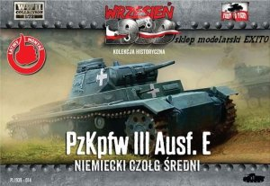 FIRST TO FIGHT 014 -  September 1939 - 1:72 Pz.Kpfw.III Ausf.E