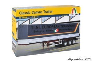 ITALERI 3908 - 1:24 Classic Canvas Trailer