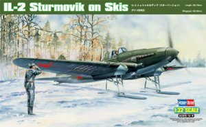 HOBBY BOSS 83202 - 1:32 IL-2 Sturmovik on Skis