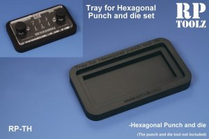 RP TOOLZ RPTH - Tray for Hexagonal Punch and die sets