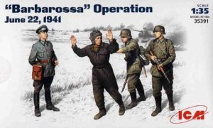 ICM 35391 - 1:35 Barbarossa operation, June 22,1941