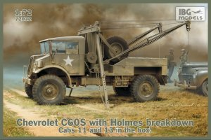 IBG 72032 - 1:72 Chevrolet C60S with Holmes breakdown