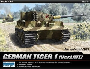 ACADEMY 13314 - 1:35 German Tiger I Late Version