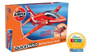 AIRFIX J6018 - RAF Red Arrows Hawk - Quick Build