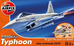 AIRFIX J6002 -  Eurofighter Typhoon - Quick Build