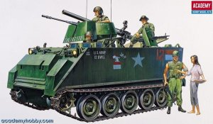 ACADEMY 13266 - 1:35 M-113A1 Vietnam version