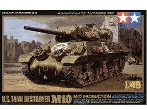 TAMIYA 32519 - 1:48 M10 Tank Destroyer Mid Production