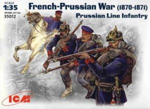 ICM 35012 - 1:35 Prussian Line Infantry, French-Prussian War (1870-1871)