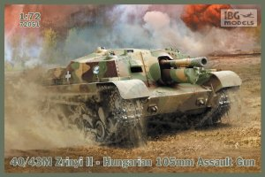 IBG 72051 - 1:72 40/43M Zrinyi II - Hungarian 105mm Assault Gun