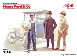ICM 24003 - 1:24 Henry Ford & Co (3 figures)