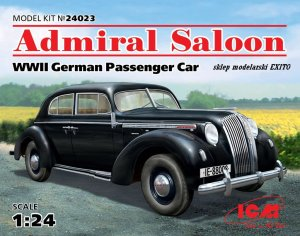 ICM 24023 - 1:24 Admiral Saloon, WWII German Passenger Car