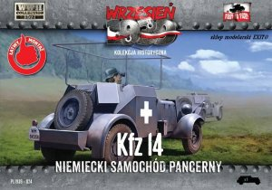 FIRST TO FIGHT 024 -  September 1939 - 1:72 Kfz 14 German armoured car