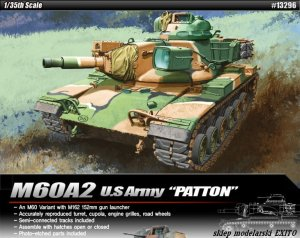 ACADEMY 13296 - 1:35 M60A2 Patton
