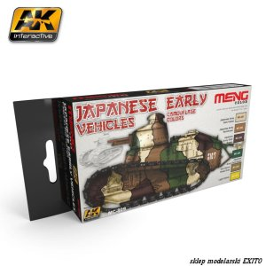 MENG MODEL MC809 - Japanese Early Vehicles Camouflage Colors
