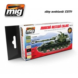 AMMO MIG 7109 - Modern Russian Camo Colors