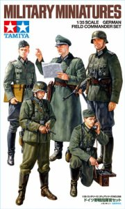 TAMIYA 35298 - 1:35 German Field Commander Set