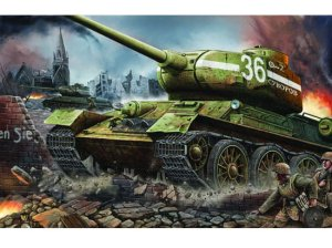 TRUMPETER 00902 - 1:16 T-34/85 mod. 1944 Factory No. 183