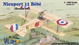 VALOM 14413 - 1:144 Nieuport 11 Bebe - Double set