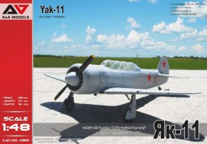 A&A MODELS - 1:48 Yakovlev Yak-11 Military Trainer