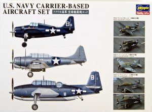 HASEGAWA 72147 QG47 - 1:350 US Navy Carrier Based Aircraft Set