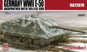 MODELCOLLECT UA72070 - 1:72 Germany WWII E-50 Jagdpanther with 105/L62 Gun