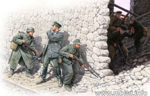 MASTER BOX 3571 - 1:35 Who's That ? - German Mountain Troops and Soviet Marines