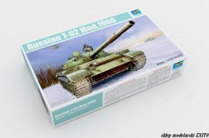 TRUMPETER 01546 - 1:35 Russian T-62 Mod.1960
