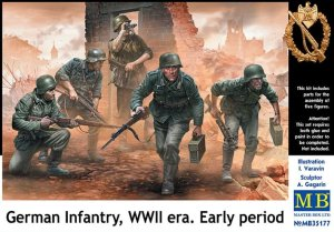 MASTER BOX 35177 - 1:35 German Infantry WWII early period