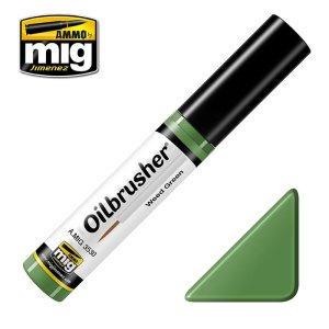 AMMO MIG 3530 - Oilbrusher - Weed Green