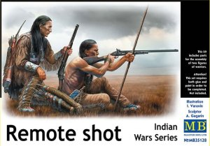 MASTER BOX 35128 - 1:35 Indian Wars Series - Remote Shot