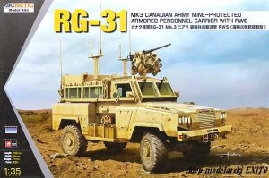 KINETIC 61010 - 1:35 RG-31 MK3 Canadian Army Mine Protected Armored Personel Carrier with RWS
