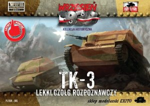 FIRST TO FIGHT 005 -  September 1939 - 1:72 TK-3 Polish Reconnaissance Tank