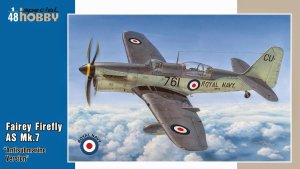 SPECIAL HOBBY 48130 - 1:48 Fairey Firefly AS Mk.7 Antisubmarine version
